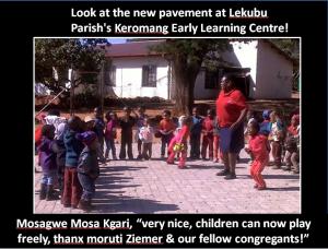 Lekubu pavement