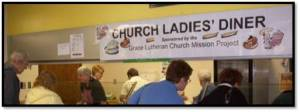 church ladies diner